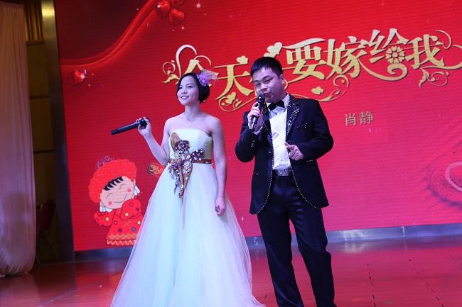 华迈净水器跨年晚会歌唱表演